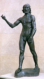 St. John The Baptist, bronze, Musée d'Orsay; Photo: William Allen