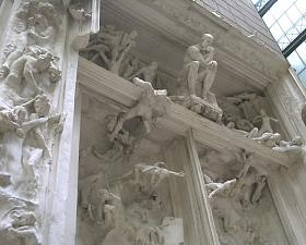 Gates of Hell, plaster, Musée d´Orsay, Photo: William Allen