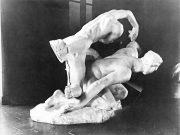 Assemblage of the 'Ugolino' character with 'The Tragic Muse', Photo :1896